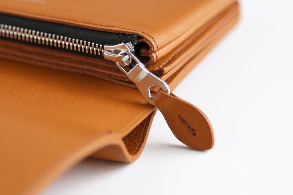 STANDARD SUPPLY/PAL/二つ折り財布(ベージュ)