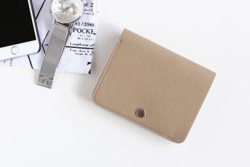 STANDARD SUPPLY/PAL/二つ折り財布(ライトベージュ)