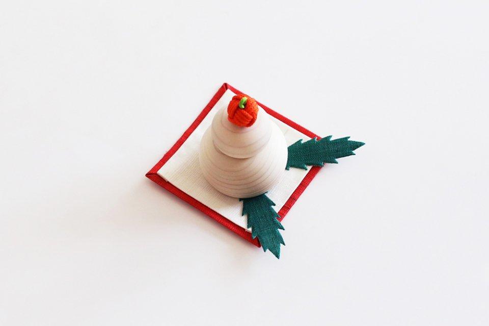 【取り扱い終了】中川政七商店/小さな鏡餅飾り