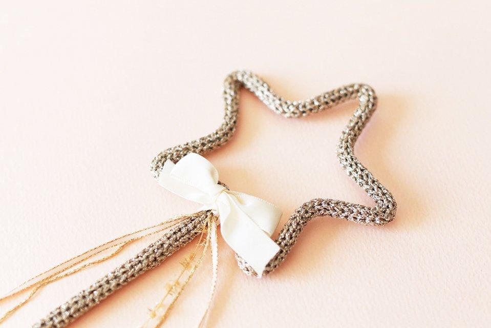 Petit Etoile/ウールレター/Star Stick(gold)