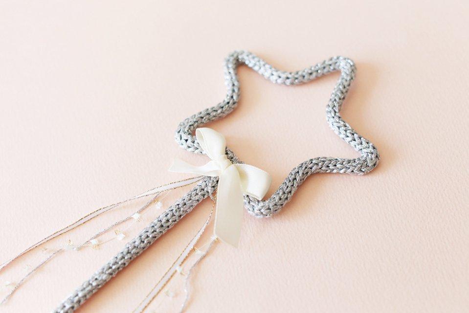 Petit Etoile/ウールレター/Star Stick(Silver)
