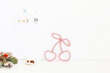 Petit Etoile/ウールレター/Cherry
