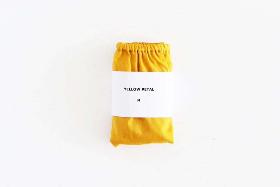 【在庫限り終了】TESHIKI(手式)/パンツ(YELLOW PETAL・Mサイズ)