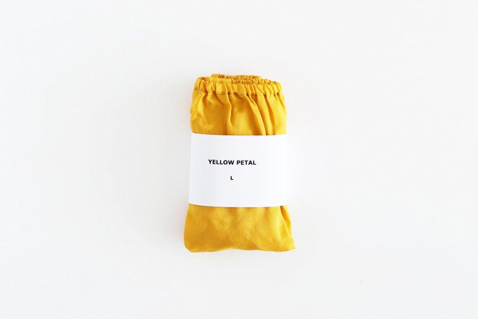 【在庫限り終了】TESHIKI(手式)/パンツ(YELLOW PETAL・Lサイズ)