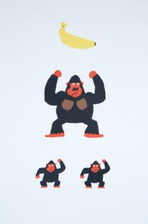 Manu Mobiles「モビールゴリラ/Gorilla's Family」