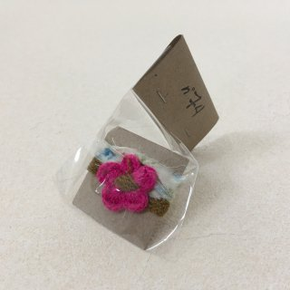 Numero74「Flower Bracelet (Deep Pink)」