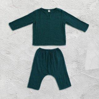Numero74「Zac Suit Shirt & Pants (Teal Blue)」