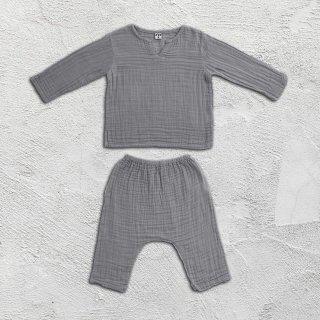 Numero74「Zac Suit Shirt & Pants (Silver Grey)」