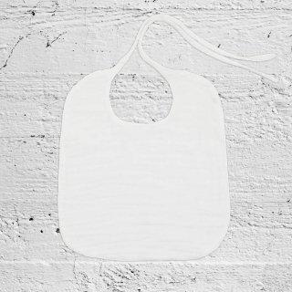 Numero74「Baby Bib Round (White)」