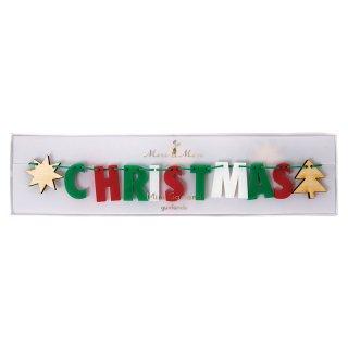 Meri Meri「MERRY CHRISTMAS ACRYLIC GARLAND」