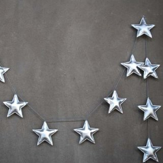 Numero74「Mini Star Garland (Silver)」