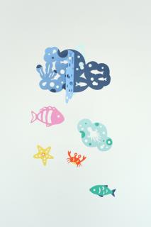 Manu Mobiles「海の仲間たちーHappy Bubblesー」