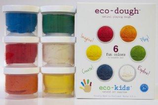 Eco-Kids「エコ粘土 (6個入り)」
