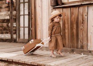 Olli Ella「See-Ya Suitcase (Rust)」