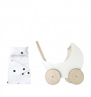 ooh noo「Toy Pram Bedding (Ladybird)」