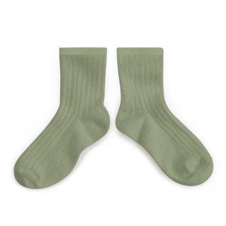 Collegien「La Mini Ribbed Ankle Socks - Safari」