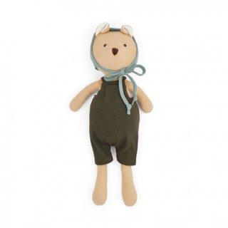 HAZEL VILLAGE「Nicholas Bear in picnic overalls and bonnet」