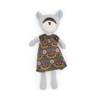 HAZEL VILLAGE「Gwendolyn Raccoon in tea party dress」