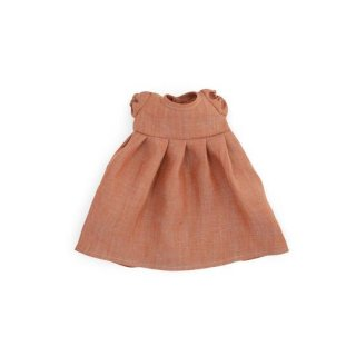 <img class='new_mark_img1' src='https://img.shop-pro.jp/img/new/icons14.gif' style='border:none;display:inline;margin:0px;padding:0px;width:auto;' />HAZEL VILLAGE「Linen Dresses for dolls - Clay」