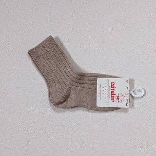 【LAST ONE ONLY SIZE 0】condor「Rib Short Socks (col316)」