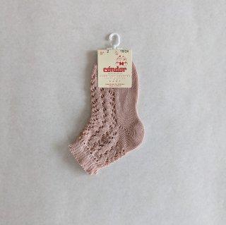 condor「P.Openwork Short Socks (col544)」