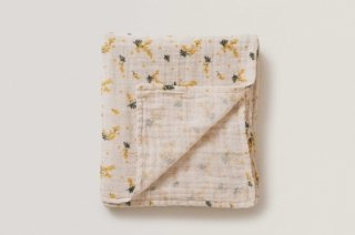 garbo&friends「Mimosa Muslin Swaddle Blanket」