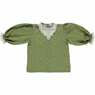 <img class='new_mark_img1' src='https://img.shop-pro.jp/img/new/icons38.gif' style='border:none;display:inline;margin:0px;padding:0px;width:auto;' />【50%OFF】bebe organic「Adele Blouse (Green)」2020-AW