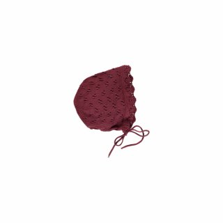 <img class='new_mark_img1' src='https://img.shop-pro.jp/img/new/icons23.gif' style='border:none;display:inline;margin:0px;padding:0px;width:auto;' />【30%OFF】bebe organic「Anne Bonnet (Burgundy)」2020-AW