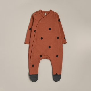 <img class='new_mark_img1' src='https://img.shop-pro.jp/img/new/icons14.gif' style='border:none;display:inline;margin:0px;padding:0px;width:auto;' />organic zoo「Earth Dots Suit With Contrast Feet」