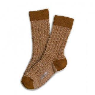 Collegien「Grain de Caviar Socks - Moutard」