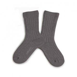 Collegien「Victoire Glittery Socks - Orage」