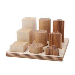 Wooden Story「ナチュラル形合せブロック XL」