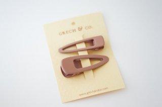 Grech & Co.「Matte Clips Set of 2 (Shell)」