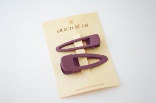 Grech & Co.「Matte Clips Set of 2 (Burlwood)」