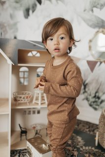 Jamie Kay「Pyjama Set - Tiny Dots」 2021-Honeydew