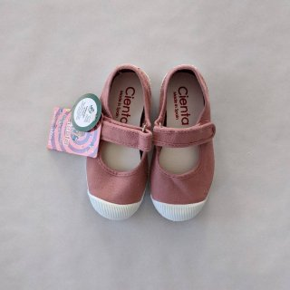<img class='new_mark_img1' src='https://img.shop-pro.jp/img/new/icons14.gif' style='border:none;display:inline;margin:0px;padding:0px;width:auto;' />Cienta「Velcro One Strap Shoes (Rose)」