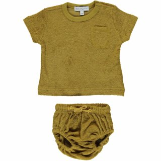 <img class='new_mark_img1' src='https://img.shop-pro.jp/img/new/icons14.gif' style='border:none;display:inline;margin:0px;padding:0px;width:auto;' />bebe organic「Paul Baby Set (Honey)」2021-SS