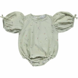 <img class='new_mark_img1' src='https://img.shop-pro.jp/img/new/icons14.gif' style='border:none;display:inline;margin:0px;padding:0px;width:auto;' />bebe organic「Nora Romper (Sage Flowers)」2021-SS