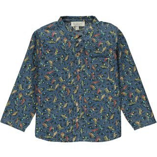 <img class='new_mark_img1' src='https://img.shop-pro.jp/img/new/icons14.gif' style='border:none;display:inline;margin:0px;padding:0px;width:auto;' />Olivier「Arlo Shirt (Hackney Road Blue)」2021-SS