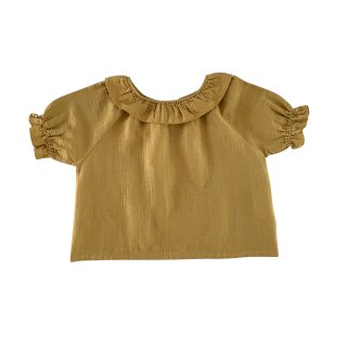 <img class='new_mark_img1' src='https://img.shop-pro.jp/img/new/icons14.gif' style='border:none;display:inline;margin:0px;padding:0px;width:auto;' />LiiLU ORGANICS「oana blouse (pistachio)」2021-SS Drop2