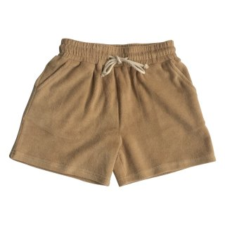 <img class='new_mark_img1' src='https://img.shop-pro.jp/img/new/icons14.gif' style='border:none;display:inline;margin:0px;padding:0px;width:auto;' />HUNTER+ROSE「Pecan Terry Towelling Shorts」2021-SS