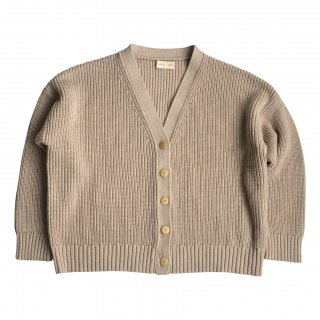<img class='new_mark_img1' src='https://img.shop-pro.jp/img/new/icons14.gif' style='border:none;display:inline;margin:0px;padding:0px;width:auto;' />HUNTER+ROSE「Marl Wheat Chunky Knit Cardigan Adult」2021-SS