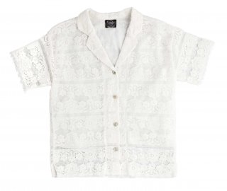 <img class='new_mark_img1' src='https://img.shop-pro.jp/img/new/icons14.gif' style='border:none;display:inline;margin:0px;padding:0px;width:auto;' />tocoto vintage「Lace Kid Blouse」2021-SS