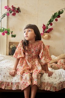 <img class='new_mark_img1' src='https://img.shop-pro.jp/img/new/icons14.gif' style='border:none;display:inline;margin:0px;padding:0px;width:auto;' />BONJOUR DIARY 「Handsmock blouse (Big flower print)」2021-SS