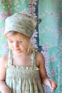 <img class='new_mark_img1' src='https://img.shop-pro.jp/img/new/icons14.gif' style='border:none;display:inline;margin:0px;padding:0px;width:auto;' />BONJOUR DIARY 「Dress skirt with border + Scarf (Mint flower print)」2021-SS