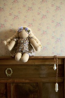 <img class='new_mark_img1' src='https://img.shop-pro.jp/img/new/icons14.gif' style='border:none;display:inline;margin:0px;padding:0px;width:auto;' />BONJOUR DIARY 「Doll dress with panty (Blue flowers print)」2021-SS