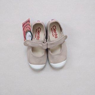 Cienta「Velcro One Strap Shoes (Perla)」