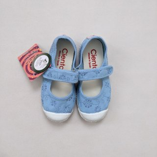 【LAST ONE ONLY SIZE 29】Cienta「Velcro One Strap Shoes / lace (Azulsky)」