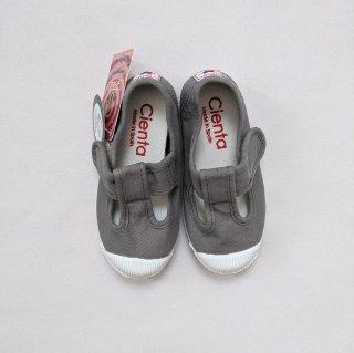 Cienta「T Strap Shoes (Gray)」