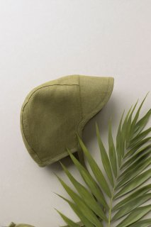 <img class='new_mark_img1' src='https://img.shop-pro.jp/img/new/icons14.gif' style='border:none;display:inline;margin:0px;padding:0px;width:auto;' />Briar Baby「Brimmed Olive Linen」